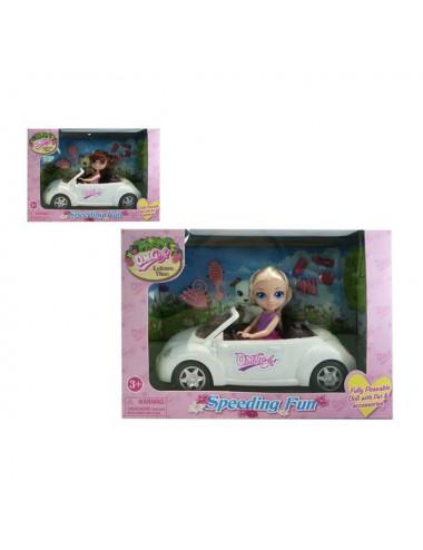 Doll with Pet Speeding Fun...