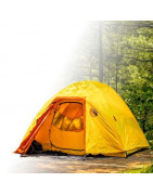 Camping and Mountain